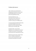 Poem: <i>The Ballad of Miss Adventure</i> by Julian Lass (2019)